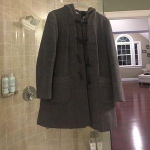 winter maternity jacket by motherhood maternity