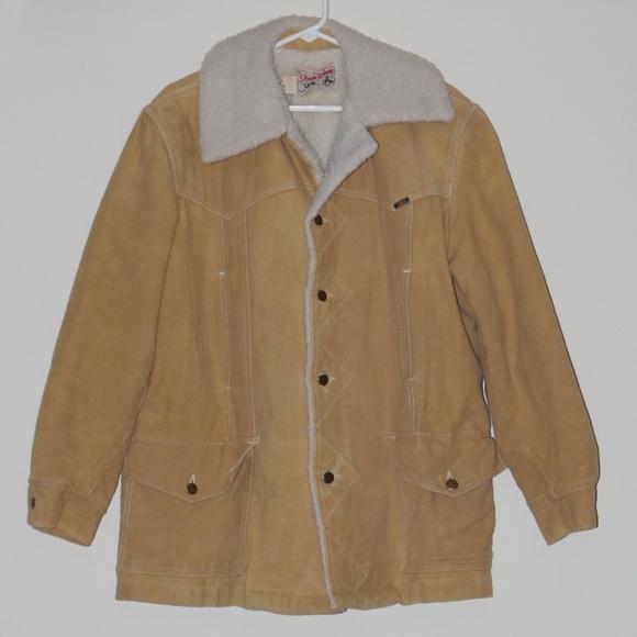 c0a68cae0ec70 Lee Jackets & Coats | Vintage 70 Usa Made Sherpa Chamois Winter Coat ...
