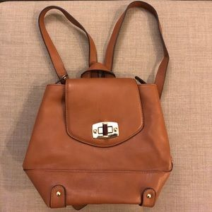 Camel-colored Backpack
