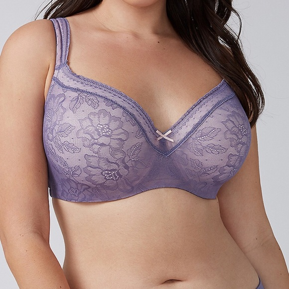 fd09d9f85b Cacique Other - Modern Lace Lightly Lined Balconette Bra