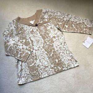 GorgeousPattern Silk Blend Lightweight SweaterTop