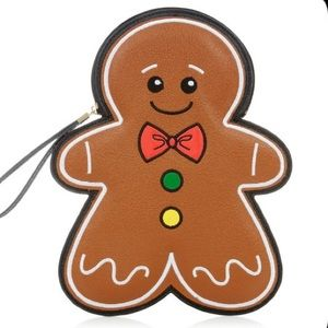 New Look Gingerbread Cookie Wrist Purse