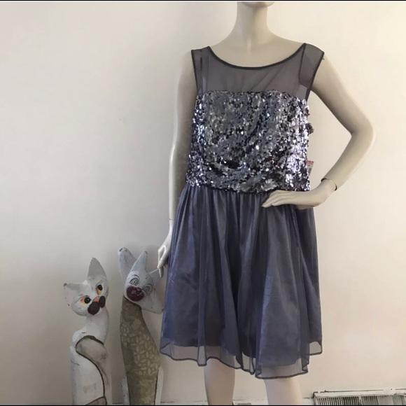 Deb Silver Dress
