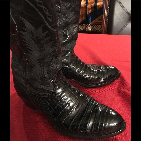bc296b5b0bf Tony Lama Shoes | Mens Exotic Western Boots | Poshmark