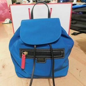 Frances Valentine Ann Drawstring Nylon Backpack