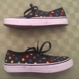 cdbacfaad8 Vans Shoes - Vans Authentic Slim Polka Dot