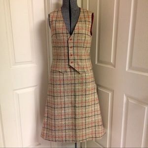 Vintage HANDMADE skirt & vest
