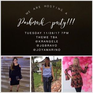 Other - JOIN US FOR A FABULOUS PARTY 🎉🛍🎉 11/28/17
