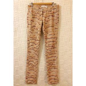 {Isabel Marant Etoile} Printed Corduroy Pants