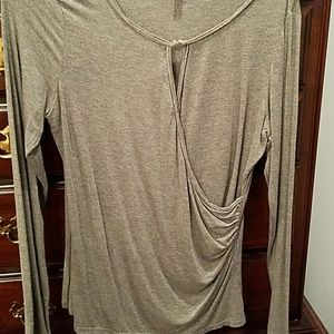 NWT Sophie Max Gray Top Size Xl