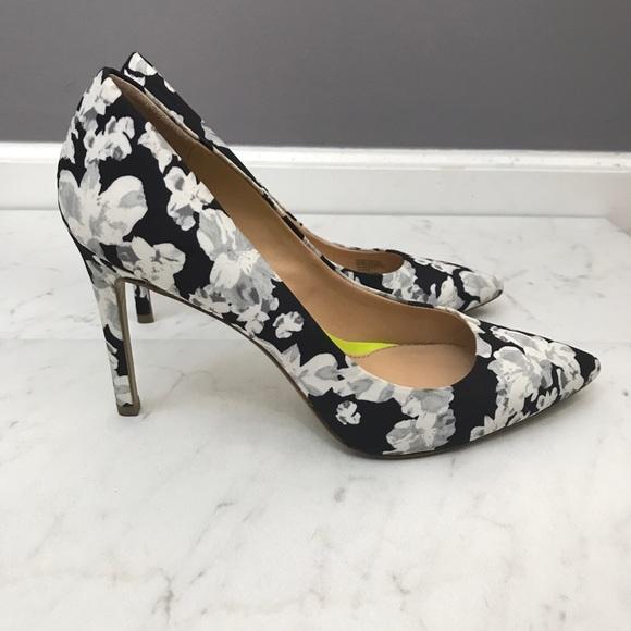 Banana Republic Shoes - Banana Republic • Floral Heels