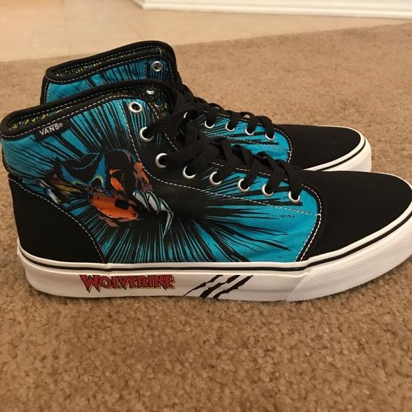 9a1d3e4695155f Vans Marvel Wolverine Hi Top Size 12. M 59f2a3a7a88e7d2dac00a7a8