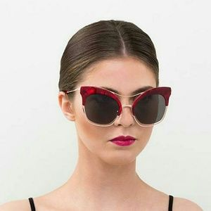 Perverse Accessories - Perverse Fabulosa Cat Eye Sunglasses Gigi Hadid