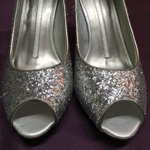 New Directions Bella Silver High Heels,