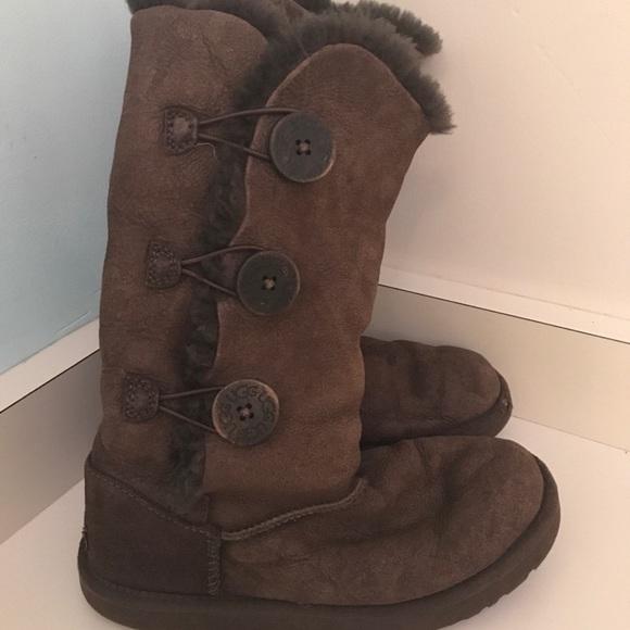 ff2a562a36d Button up Ugg boots tall