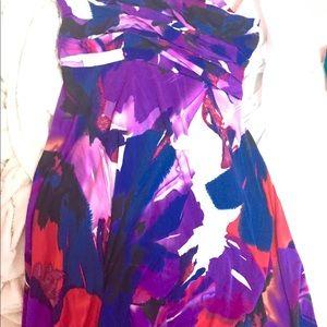 Dresses & Skirts - Strapless dress size Medium