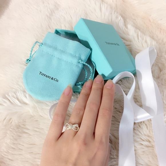 fd31f5e6dbfc0 Tiffany Twist Bow Ring Size 5.5