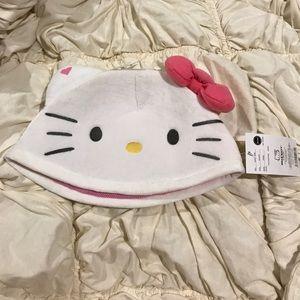 NWT Hello Kitty Kigurumi half cap