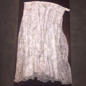 Coldwater Creek Silk Skirt