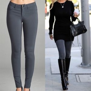 CHARCOAL GRAY skinny pants jeggings