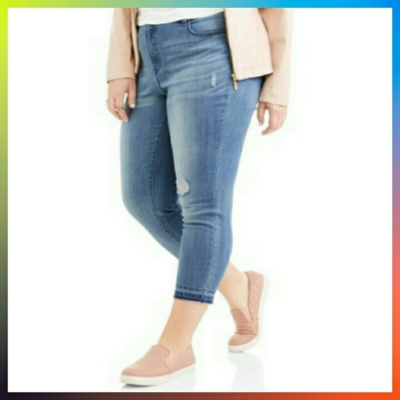83ddd4307c0 FG Women Plus Size Slim Boyfriend W Tummy Control