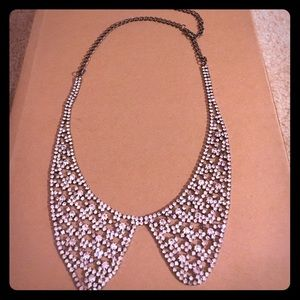 Peter Pan collar jeweled necklace by Jewel Mint