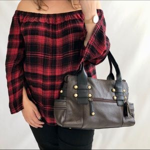 Tignanello Brown Leather Bag