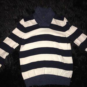 Express Men's Striped Sweater