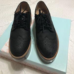 5a975e50ea1 Jeffrey Campbell Shoes - JEFFREY CAMPBELL LUCITE PLATFORM BROGUES SIZE 7.5