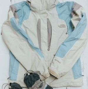 The North Face jacket with gloves