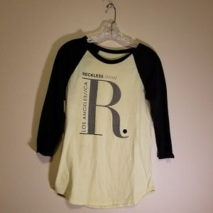Young & Reckless long sleeve top