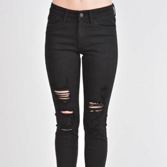 KanCan Denim - 🆕Black Distressed Jeans