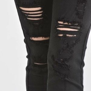 KanCan Jeans - 🆕Black Distressed Jeans