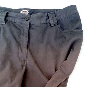 475baeeea01 Slazenger Shorts - Slazenger BLACK Women Outdoors Golf Shorts SIZE 14