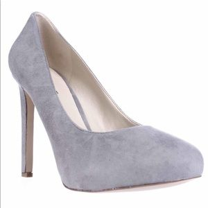 Tyler Everyday Sleek Suede Grey High Heels