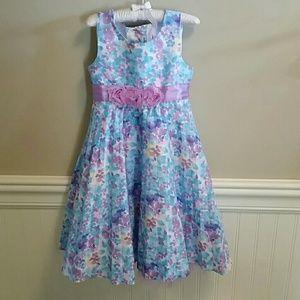 40d45f8d8630b Girls Nannette size 4 sleeveless Floral dress