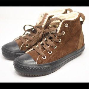 949a1e12b15161 Converse Shoes - Converse CT Hollis Hi Dark Earth Suede