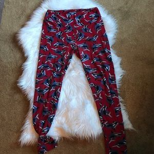 LulaRoe OS Orca Leggings