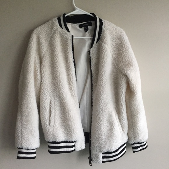 4329ed19d30e Forever 21 Jackets   Blazers - NEW wool contrast bomber jacket