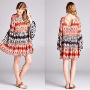 🎀 Plus Size 🎀 BoHo Gypsie Mini Dress/Tunic