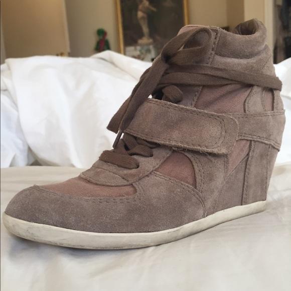 42cab87e293a Ash Shoes - ASH Bowie Cocco Suede Wedge sneaker