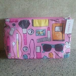 NWT Clinique Makeup Bag