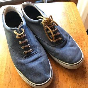 Tommy Hilfiger denim look oxford boat sneakers
