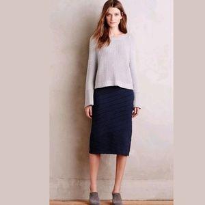 NEW Anthropologie Adela Sweater Skirt by Moth