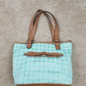 Croft & Barrow Mint Green Purse Handbag Medium