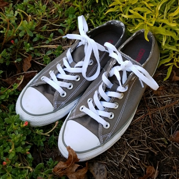 41c035b46e84 Converse Shoes - CONVERSE ALL STAR Gray   White Low Top Sneaker