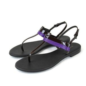 BOTTEGA VENETA - leather thong sandal