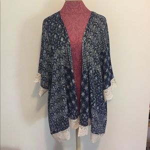 Other - Lace Kimono/Duster