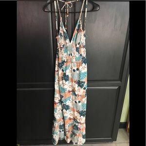 Delia's Floral Maxi Dress