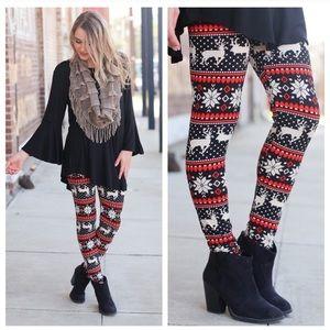 Winter 🦌 Print Leggings